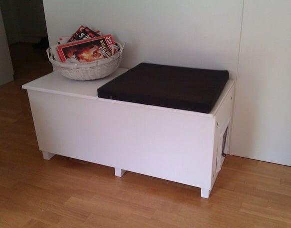 Cat Litter Box In A Living Room Why, Cat Litter Box Furniture Ikea