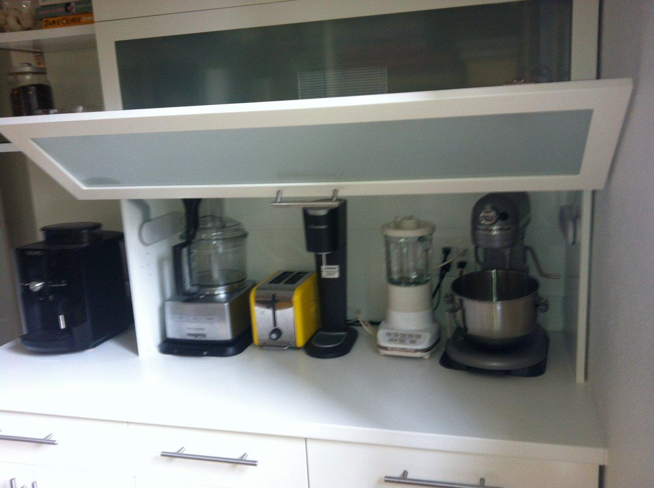 kitchen appliance garage ideas - Kitchen Appliance Garage IKEA Hackers IKEA Hackers