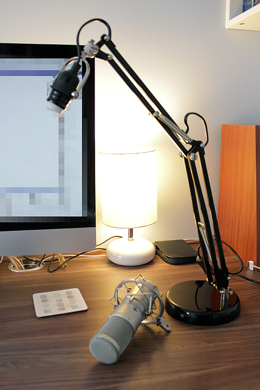 Adjustable Desktop Microphone Boom On A Budget Ikea Hackers
