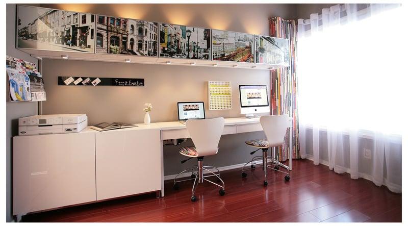 besta office. ikea besta office photography display hackers k