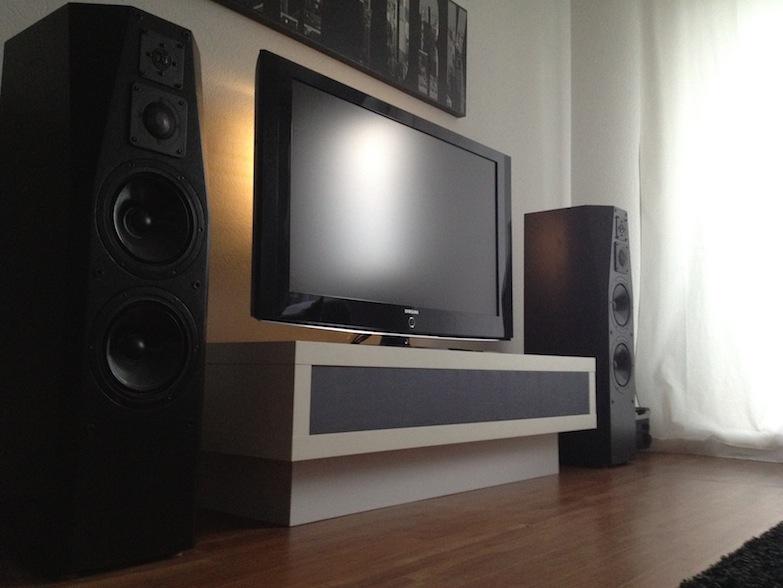 Ikea Faktum Legs Installation ~ Personalised Lack TV unit  IKEA Hackers  IKEA Hackers
