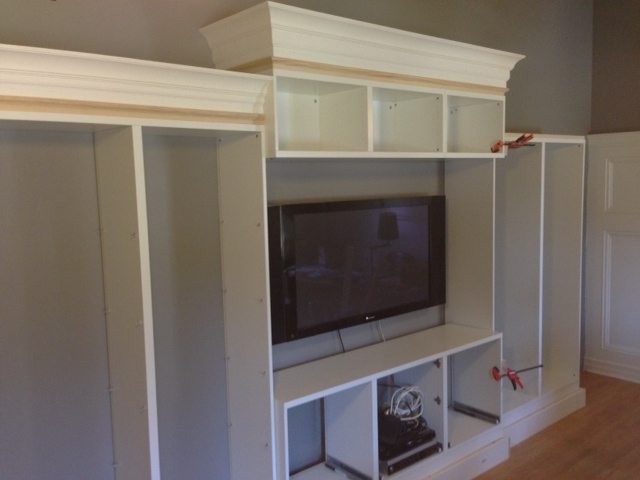 Big Besta Built-ins - IKEA Hackers
