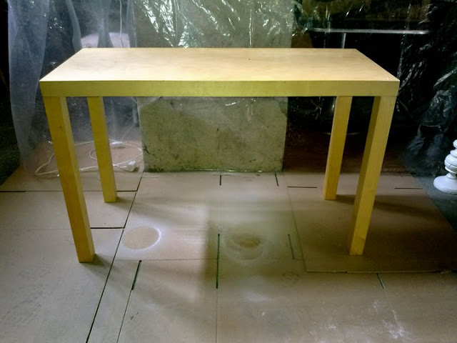 Ikea lack console table ikea hackers ikea hackers for Ikea malm console table