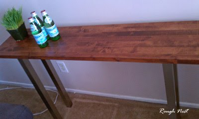 see more of the console table - Console Table Ikea
