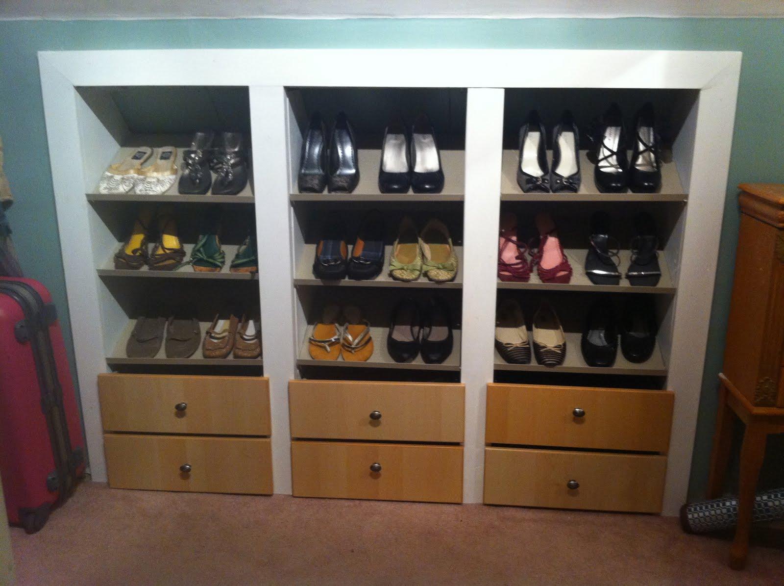 built in shoe wall ikea hackers ikea hackers. Black Bedroom Furniture Sets. Home Design Ideas