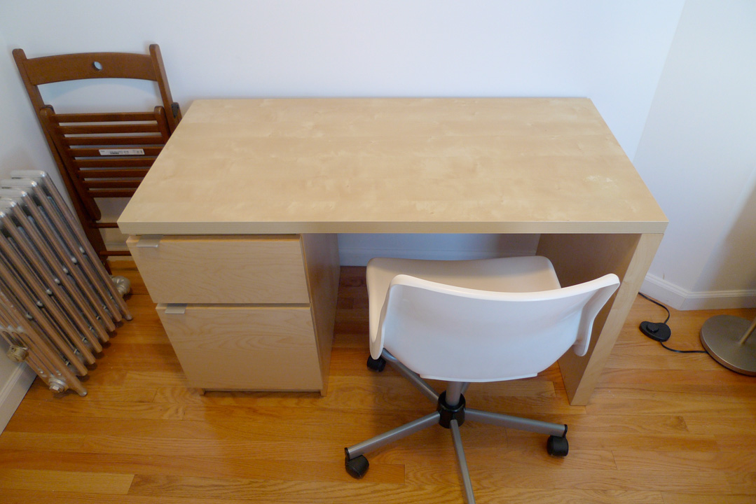 Hybrid desk with file drawer ikea hackers