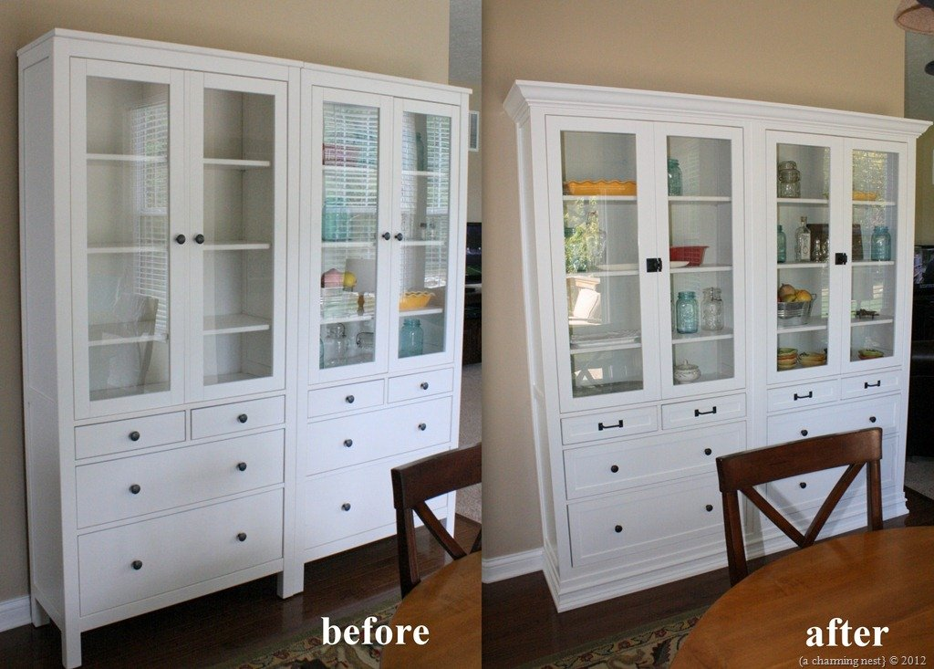 Turning IKEA Hemnes into Built-Ins - IKEA Hackers - IKEA Hackers