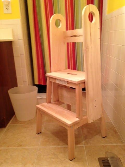 BEKVAM kid-safe step stool