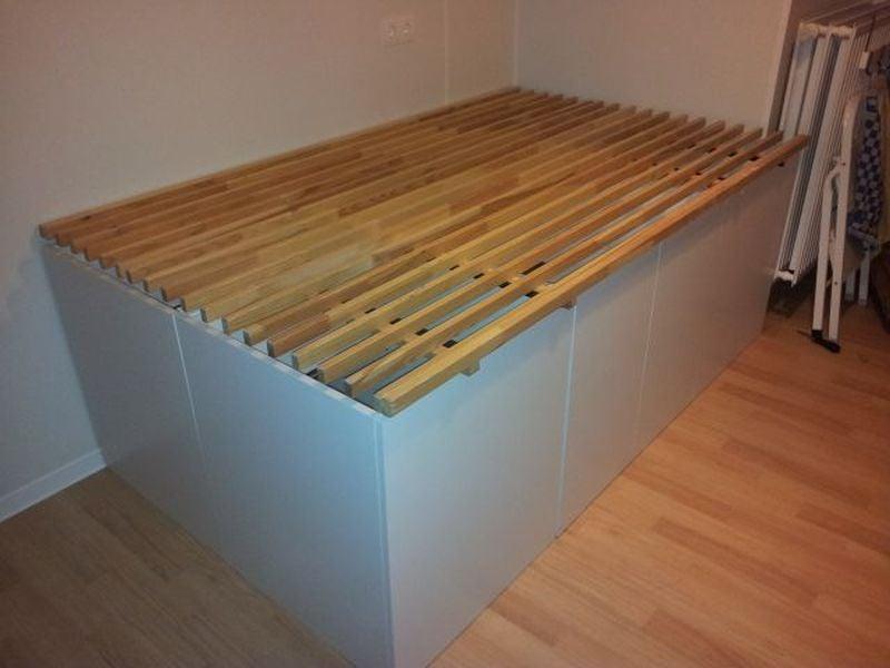 Faktum cabinets double bed - IKEA Hackers - IKEA Hackers