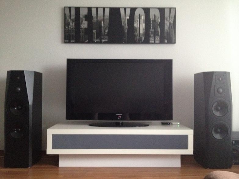 Meuble Tv Ikea Lack : Personalised Lack Tv Unit – Ikea Hackers – Ikea Hackers