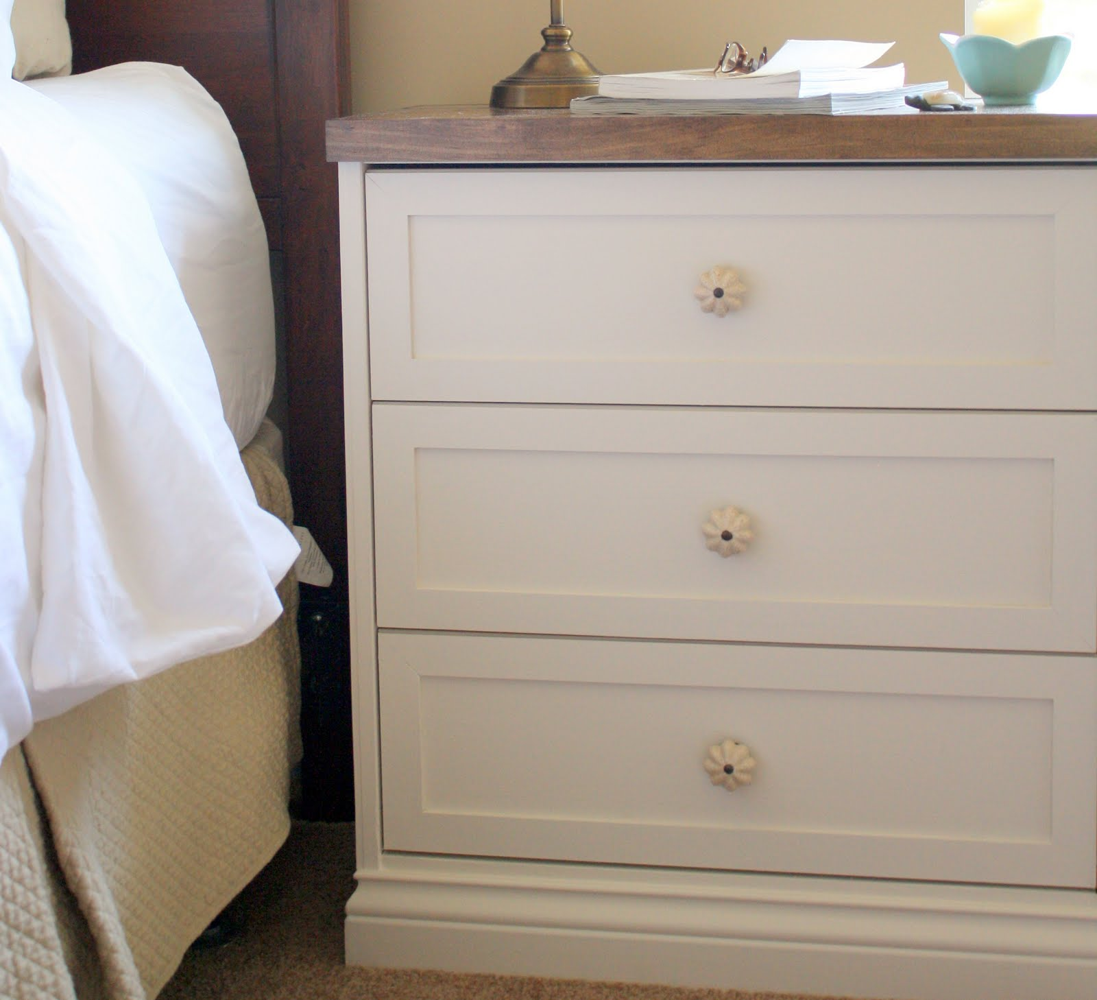 ikea closet shelving ideas - Bedside Tables a RAST hack IKEA Hackers IKEA Hackers