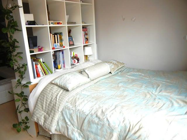 kallax storage bed