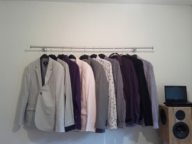 Low Cost Clothing Rack Ikea Hackers