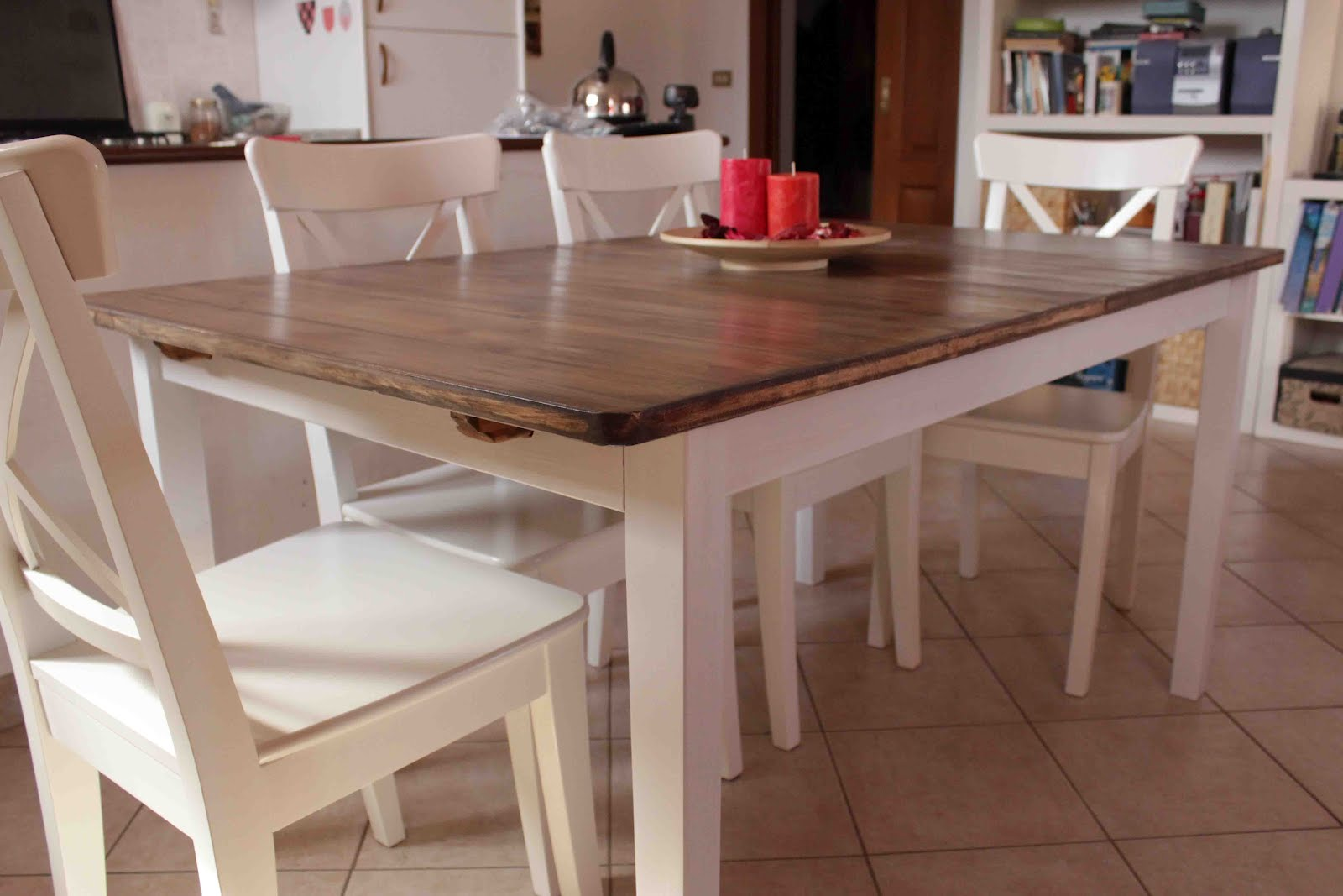 country kitchen style dining table ikea hackers ikea hackers
