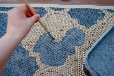 paint your rug