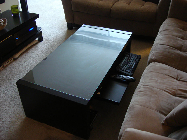 Home Theater Coffee Table Ikea Hackers