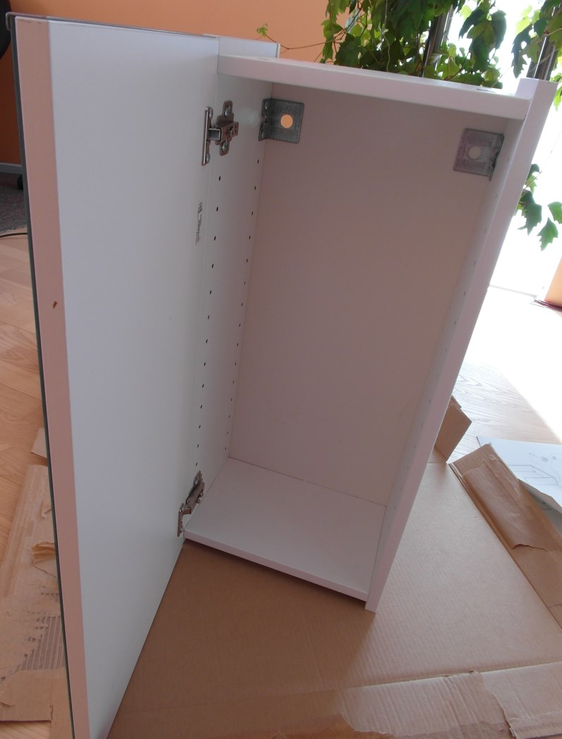 How To 30cm Lillangen Mirror Wall Cabinet Ikea Hackers
