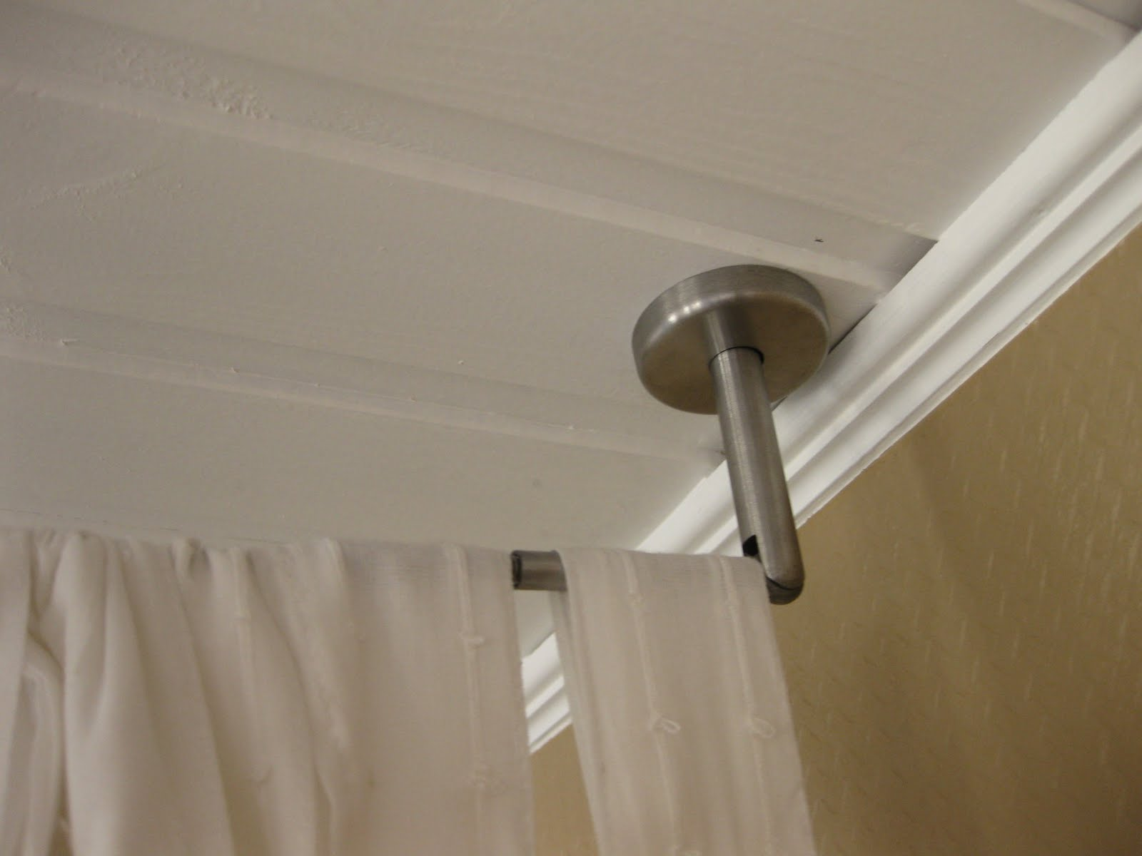 Hanging Curtains From Ceiling Wire Curtain Menzilperde Net