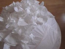 Sandwich paper Regolit lamp