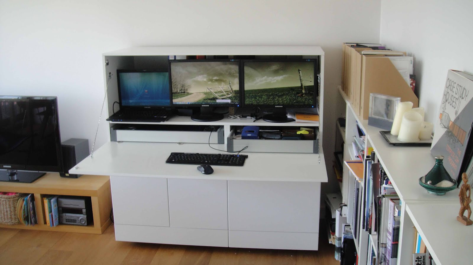 Ikea Home Office Hack Viewing Gallery