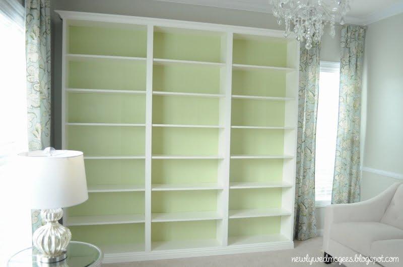 Billy Built In Bookshelves