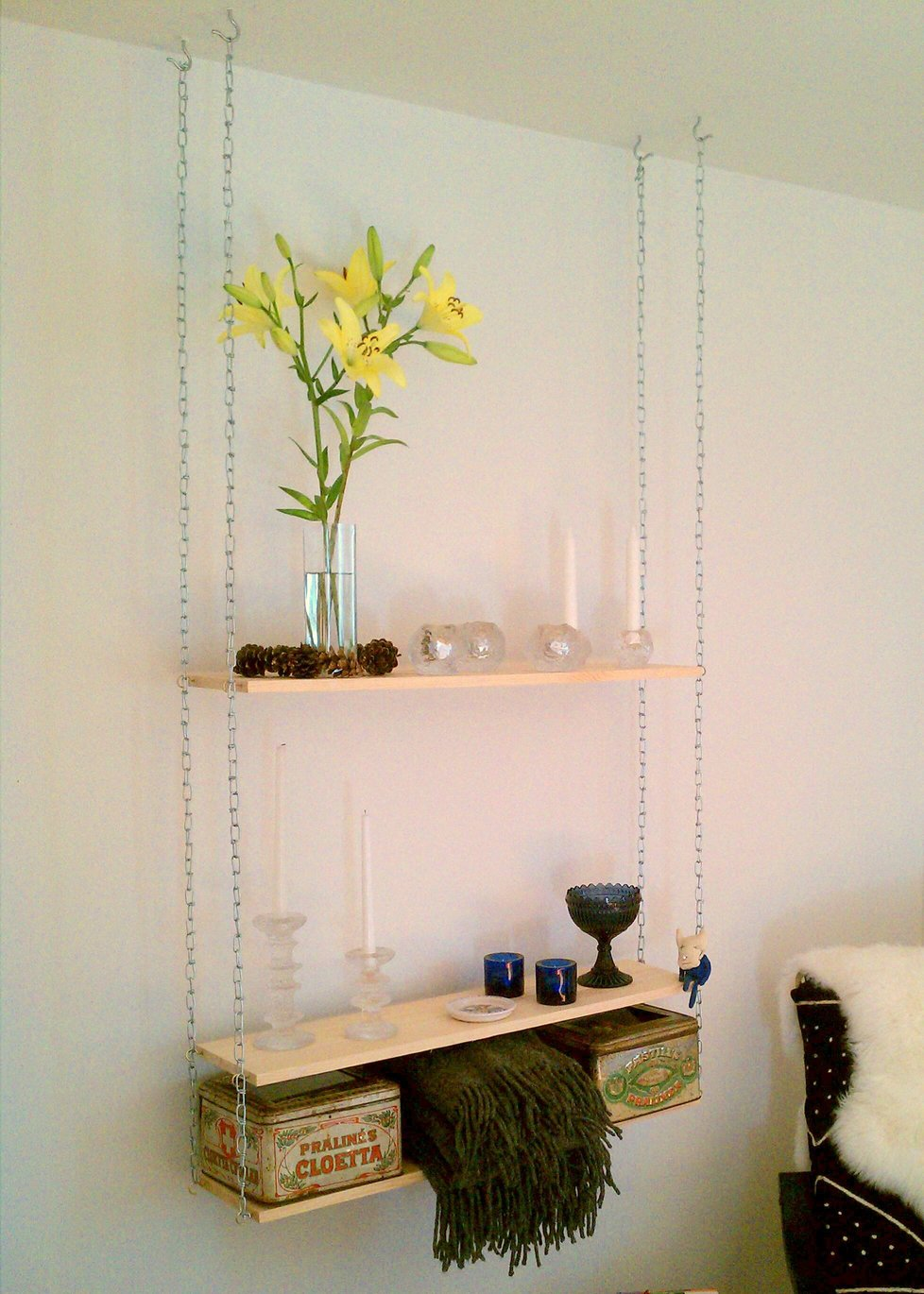 hanging shelves from ceiling | Roselawnlutheran