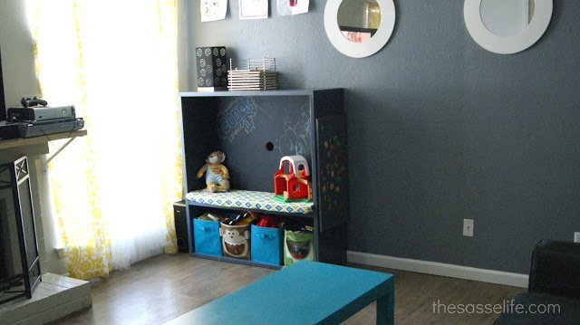 Ikea Dresser Turned Tv Stand ~ BESTÅ TV Stand Turned Kids Corner  IKEA Hackers  IKEA Hackers