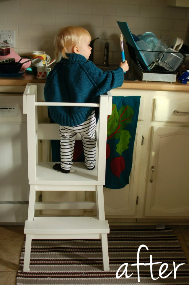 Lucy S Learning Tower Ikea Step Stool Hack Ikea Hackers