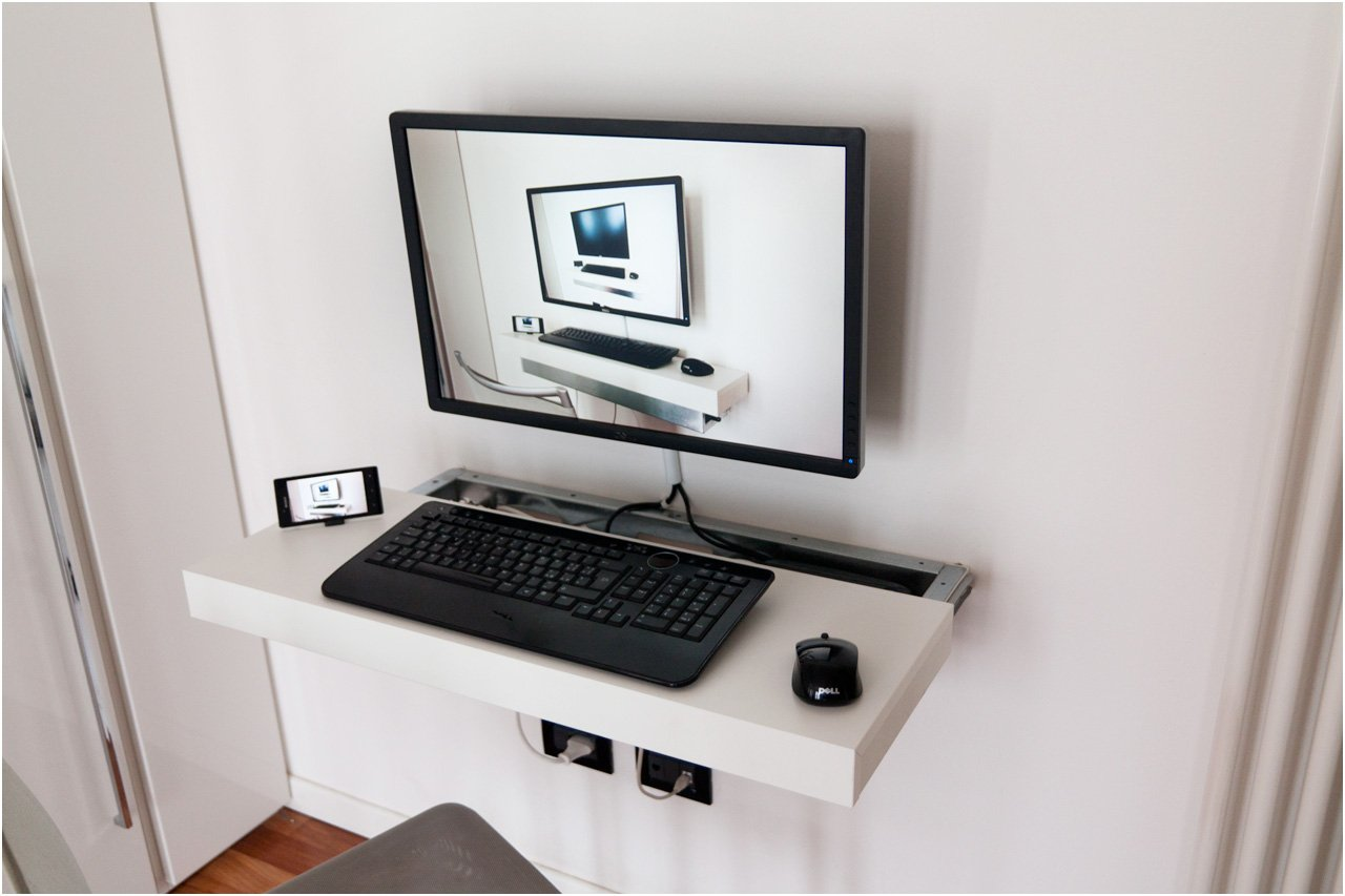 Mini Pc Float And Slide Desk