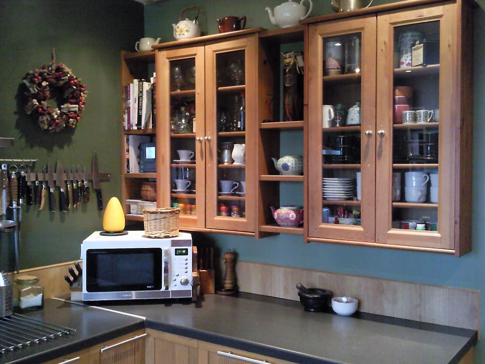 Leksvik Pine Cd Cabinets And Ikea Pine Shelves Kitchen Cabinets Ikea Hackers