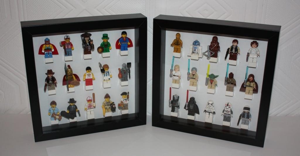 ribba lego minifigure display