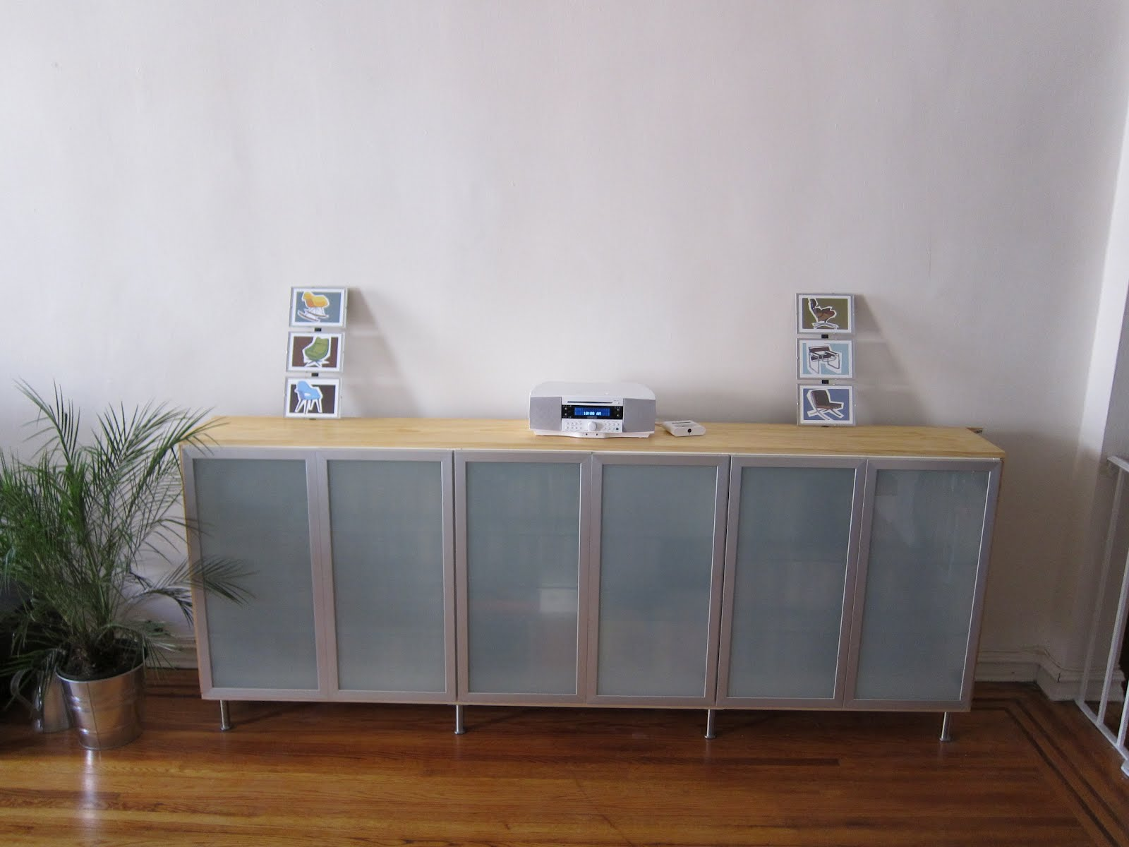 Ikea Credenza for Pinterest
