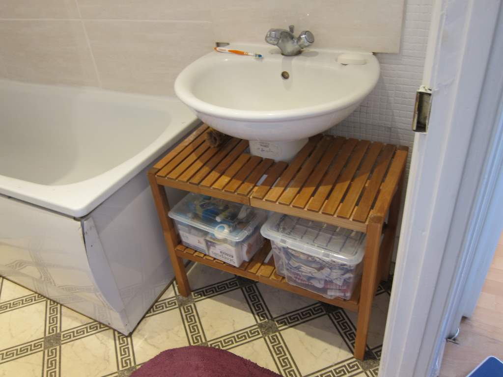 Fitting A Molger Under The Sink Ikea Hackers