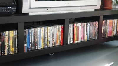 How to line up your DVDs
