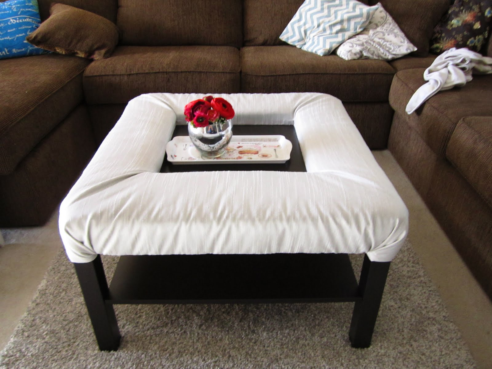 Lack Coffee Table with footrest IKEA Hackers IKEA Hackers