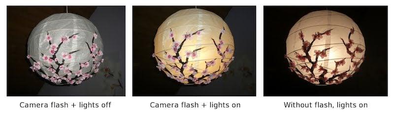 Ikea Regolit Floor Lamp Hack ~   cherry blossom lantern, inspired by Joey  IKEA Hackers  IKEA Hackers