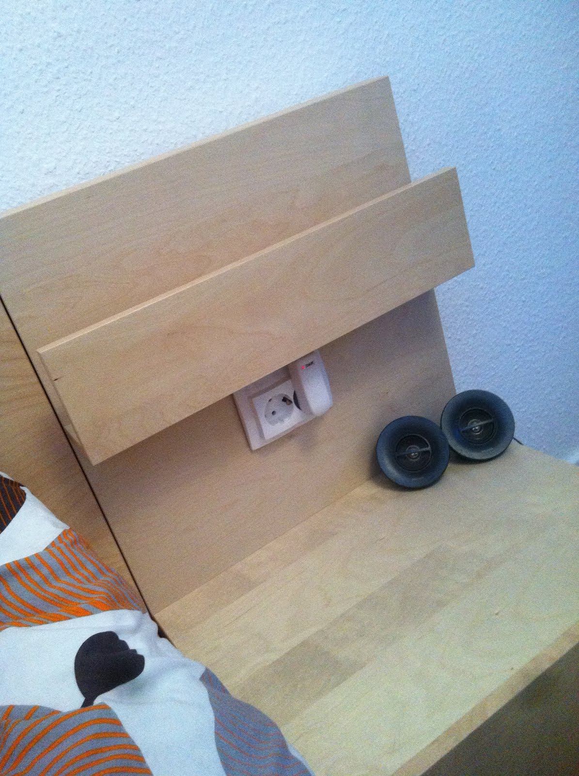 Socket In The Malm Nightstand