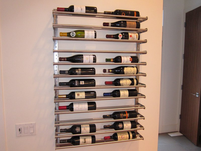 How To Buy Wall Mounted Wine Rack : How To Buy Wall Mounted Wine Rack : IKEA Wine Rack