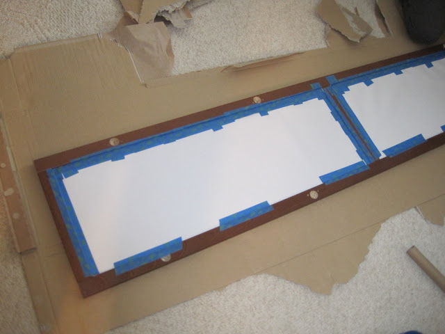 Glass Panel Headboard