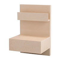 malm nightstand bedside table