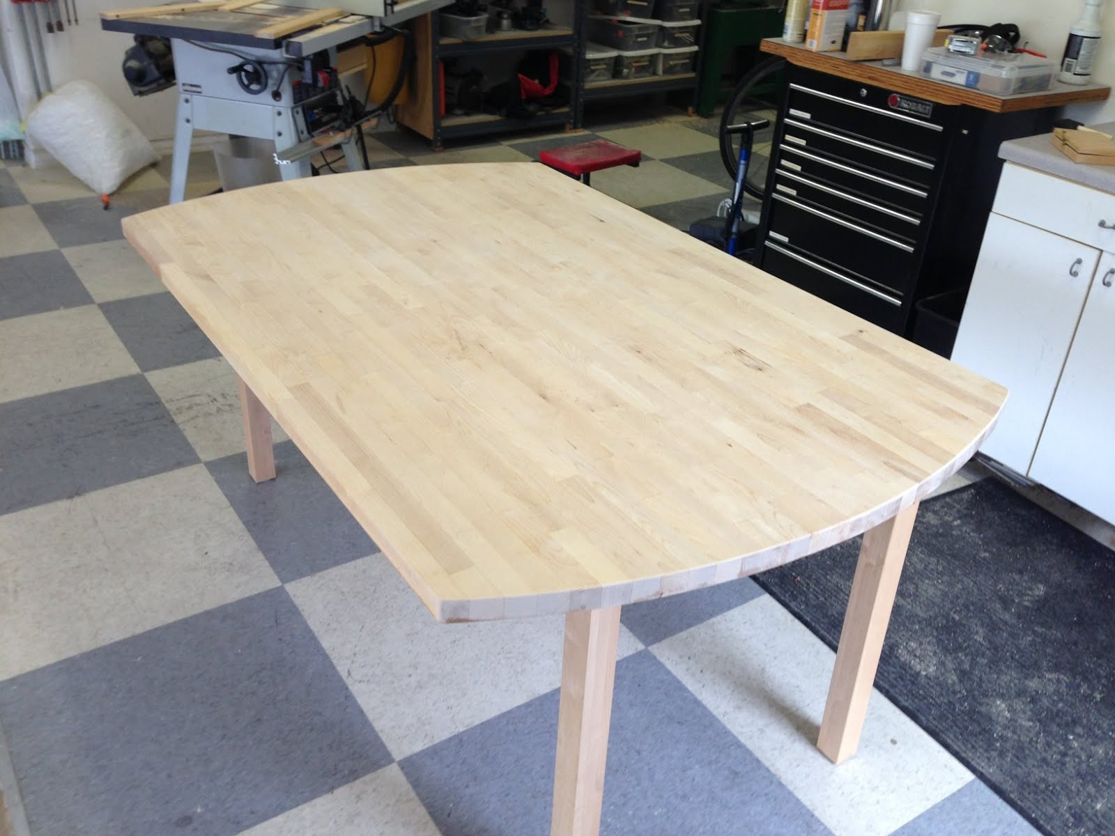 Kitchen Table from Counter Top - IKEA Hackers - IKEA Hackers