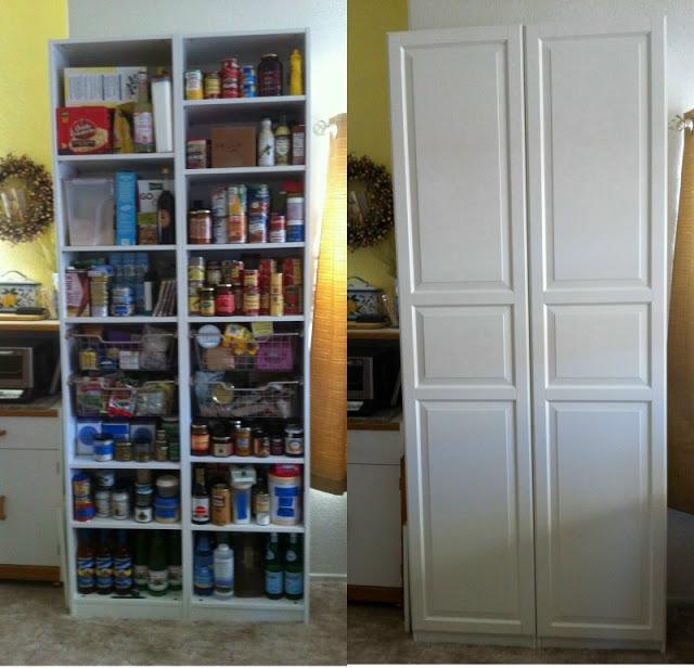 PAX for kitchen storage