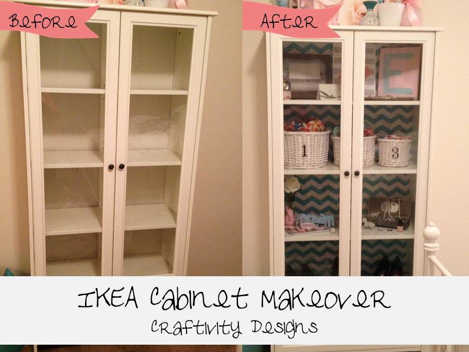 Easy IKEA Cabinet Makeover with shelf paper - IKEA Hackers - IKEA ...