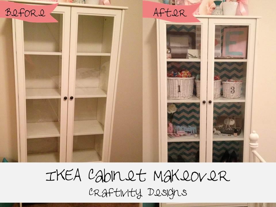 Easy IKEA Cabinet Makeover with shelf paper - IKEA Hackers - IKEA ...