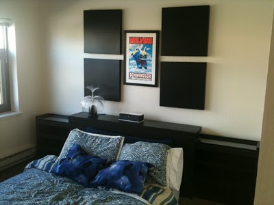 installed the malm headboard 199 without the malm platform