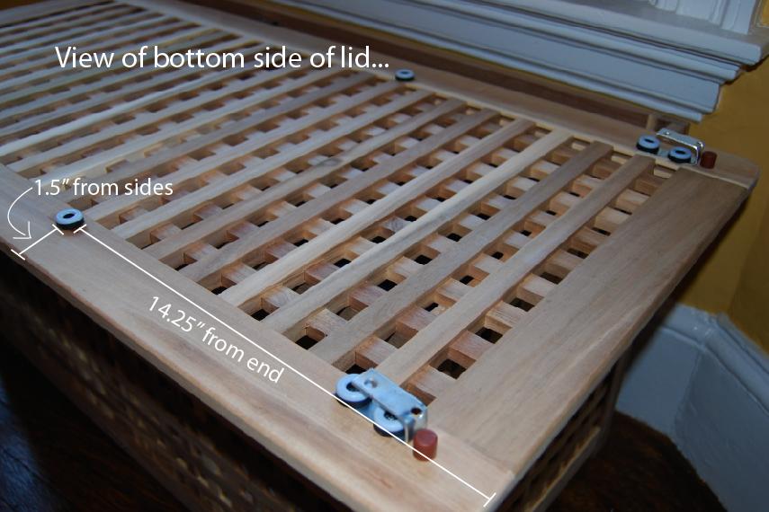 Hol Cat Litter box with Sliding Top - IKEA Hackers - IKEA Hackers