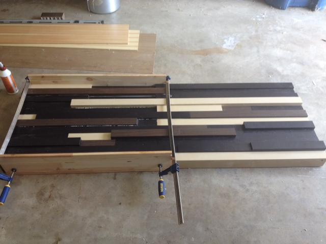 Ikea (scraps) headboard - IKEA Hackers