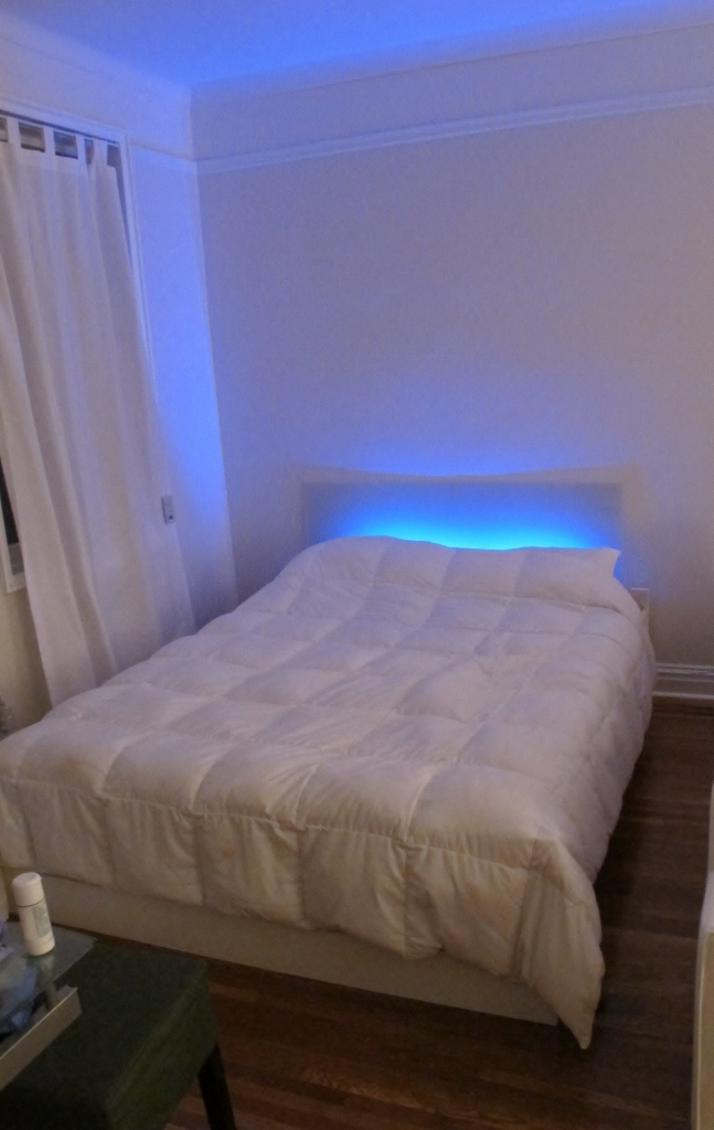 as is mood light headboard