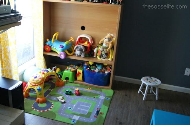 best tv stand turned kids corner