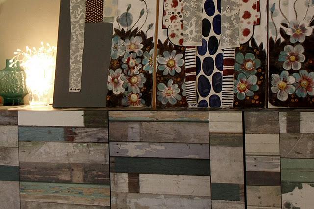 IKEA scrapwood Besta cabinet